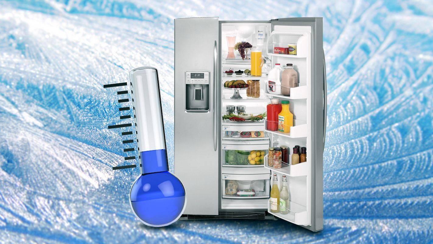 Оптимальный температурный режим в холодильной и морозильной камере