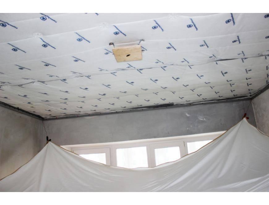 Звукоизоляция потолка пробкой: покрытие для шумоизоляции в квартире, отзывы и укладка