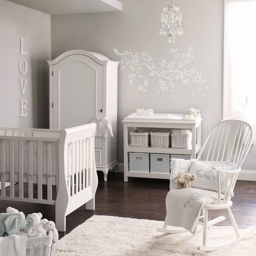 Детская для новорожденного - 70 фото уютного дизайна