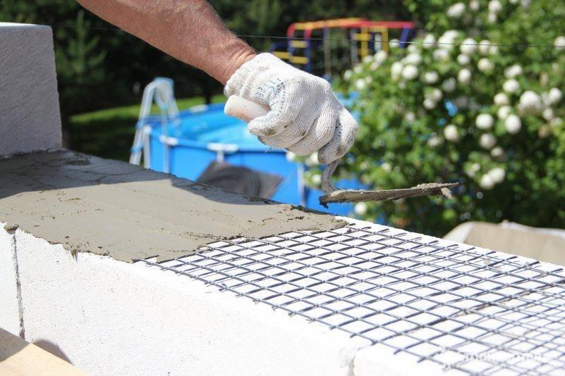 Армирование стен из газобетона – строительные нормы и практика