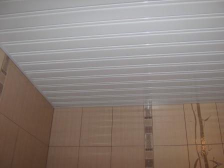 Потолок из сайдинга на кухне - особенности и фото