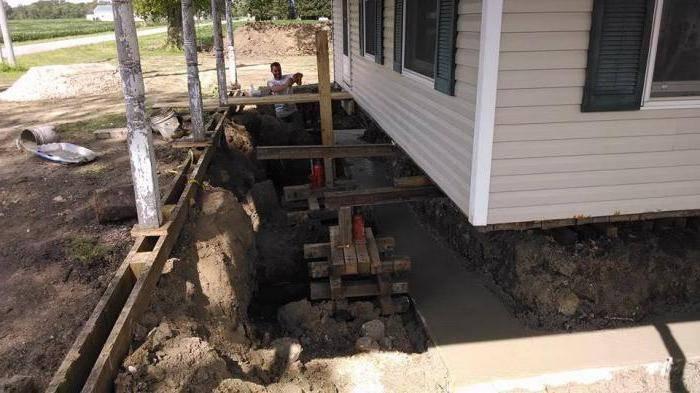 Фундамент для деревянного загородного дома