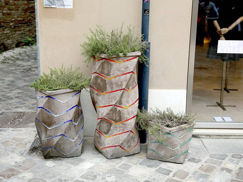 Красивые бетонные фигуры для сада своими руками