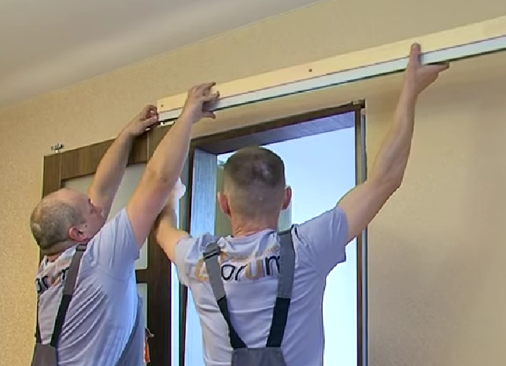 Как установить раздвижную межкомнатную дверь своими руками пошагово