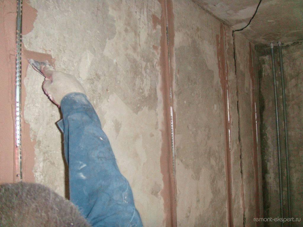 Штукатурка стен своими руками: подробная полная инструкция