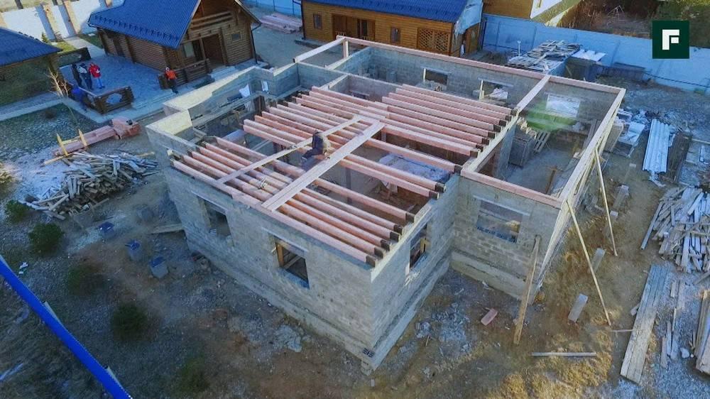 Как построить дом на старом фундаменте