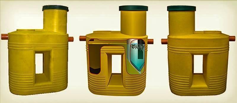 Энергонезависимые септики тритон