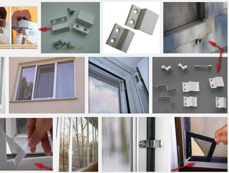 Установка москитной сетки на балконную дверь своими руками: как замерить размер и как она крепится