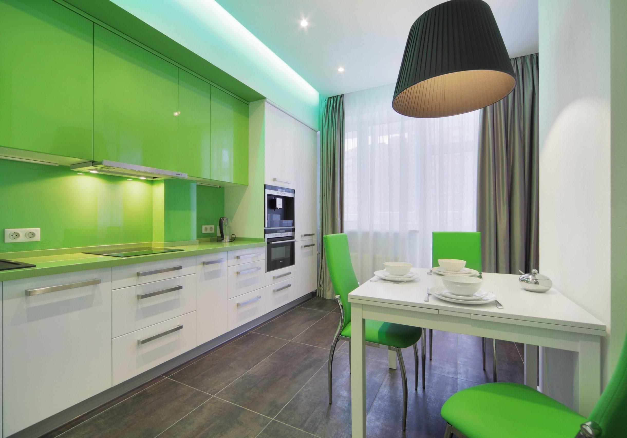 Сочетание цветов в интерьере кухни: правила, советы,таблицы