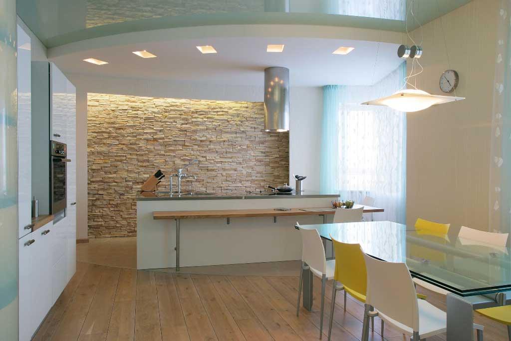 Варианты отделки стен на кухне: достоинства и недостатки различных  вариантов
