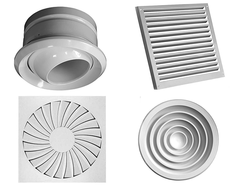Диффузоры для вентиляции: виды и применение
