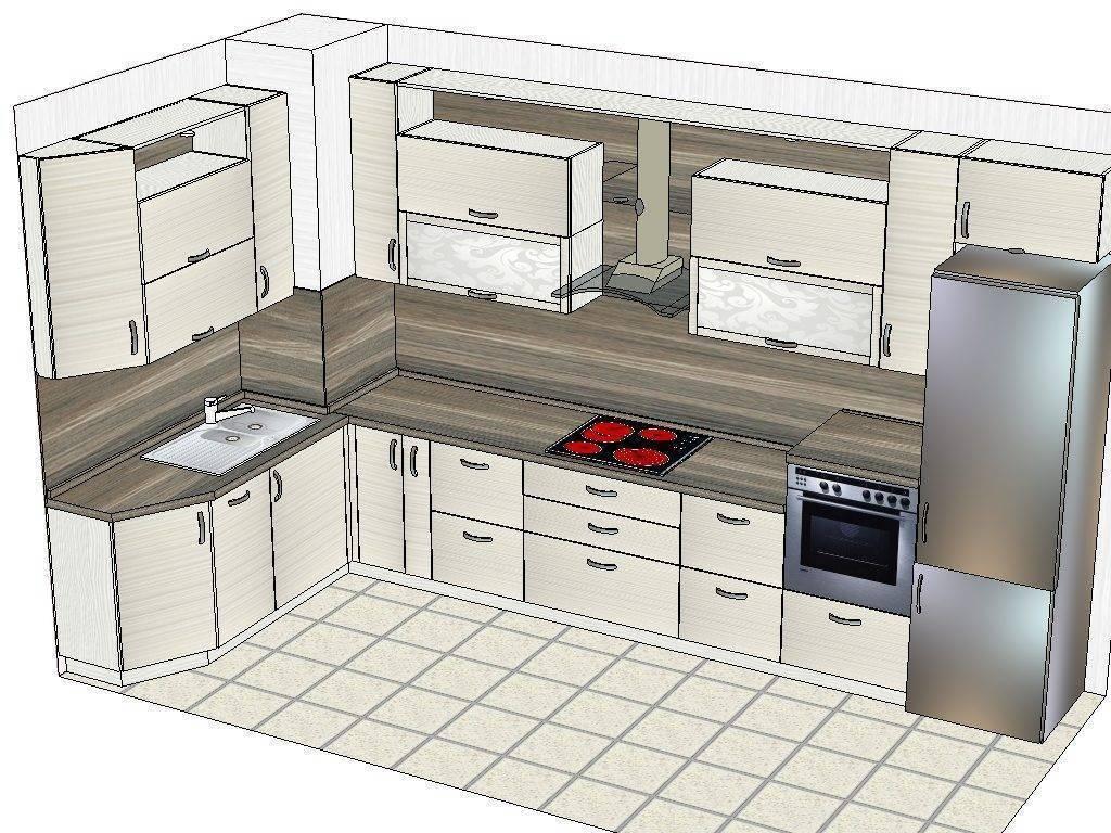 Эскиз кухни — как самостоятельно спроектировать кухню на компьютере или на бумаге