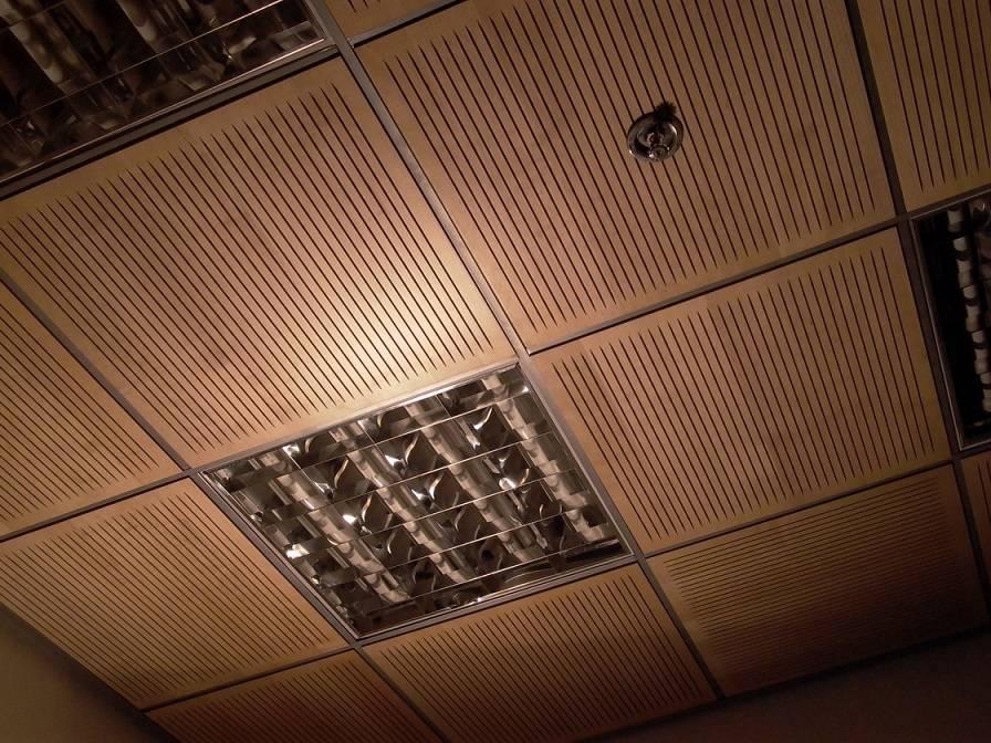 Акустический потолок: виды, конструктивные особенности и способы монтажа