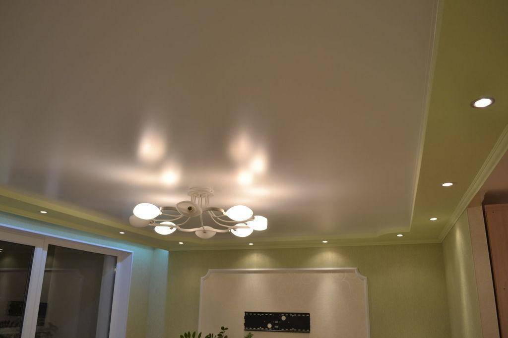 Натяжные сатиновые потолки с их плюсами и минусами