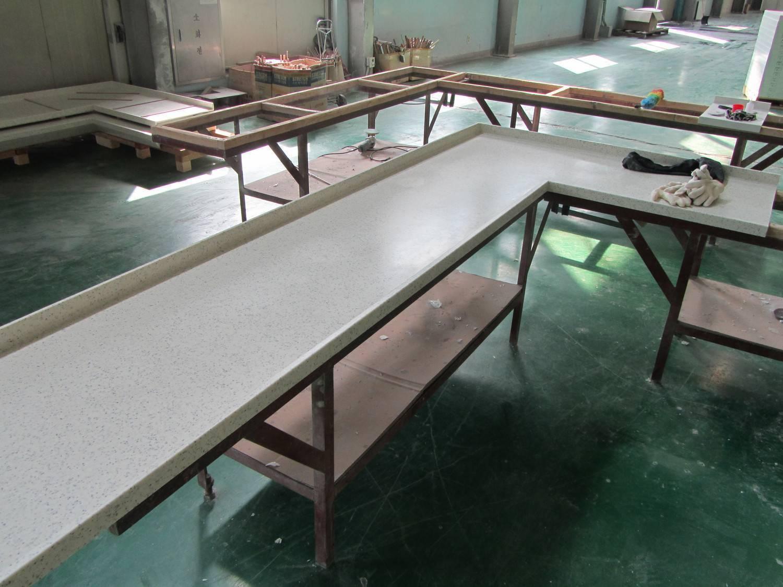 Самодельная столешница: технология изготовления из бетона, плитки и камня