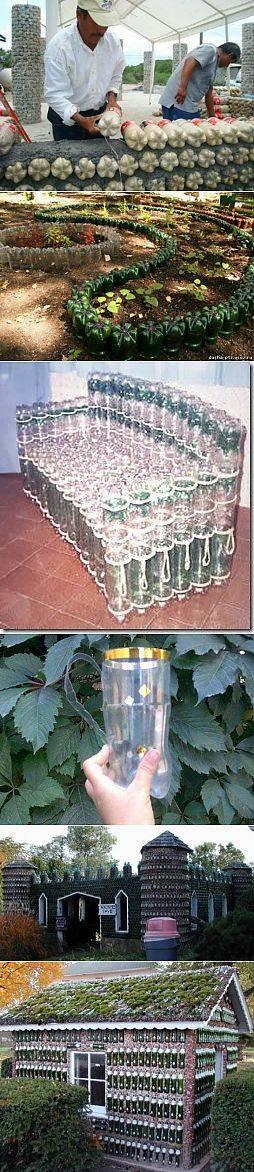 Интересные и полезные поделки из пластиковых бутылок для сада и огорода - огород, сад, балкон - медиаплатформа миртесен