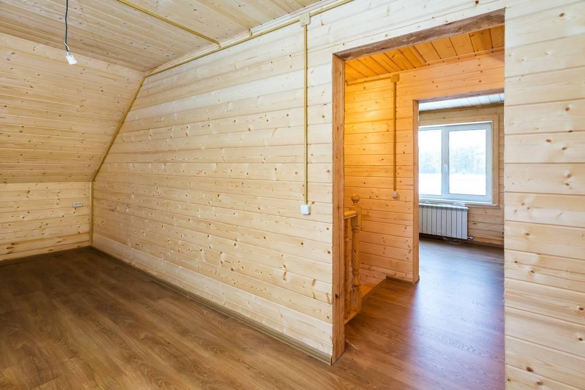 Внутренняя отделка дома из бруса: своими руками