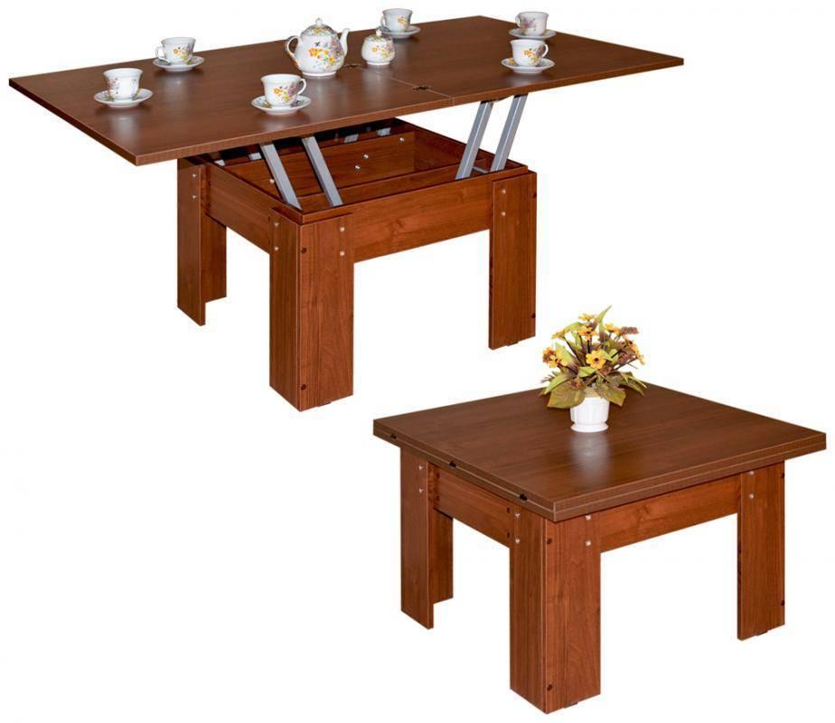 Как выбрать стол-трансформер для гостиной