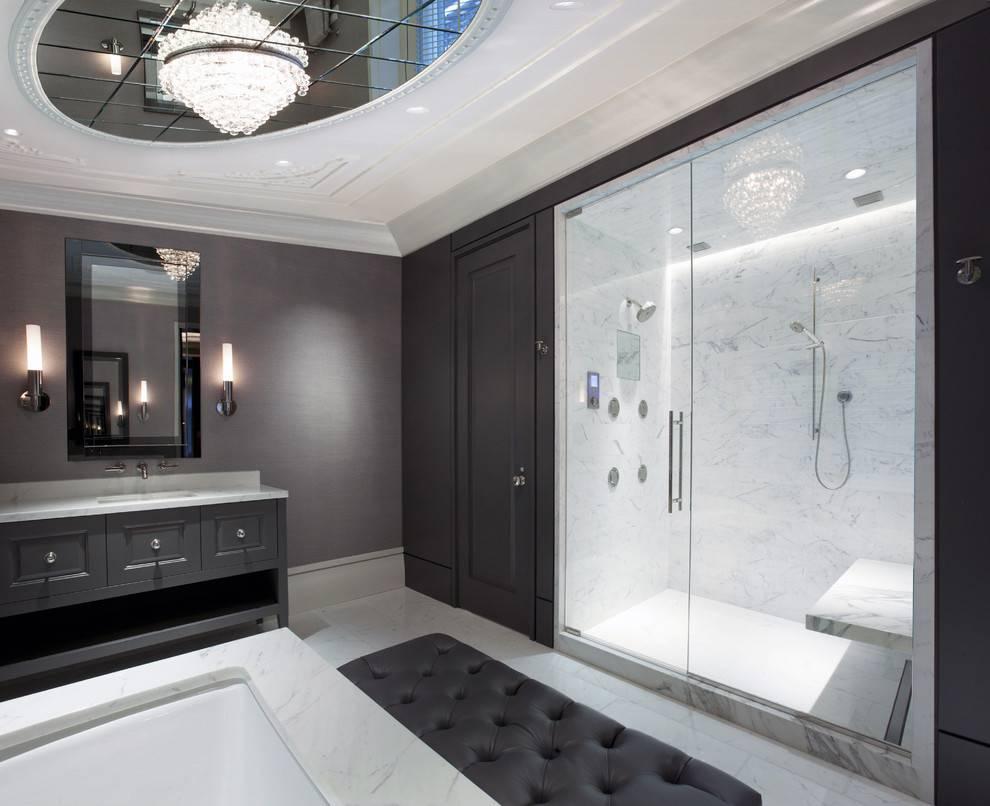 Потолок с подсветкой (58 фото): акриловые полупрозрачные готовые наборы для монтажа, потолок из деревянных реек в спальне