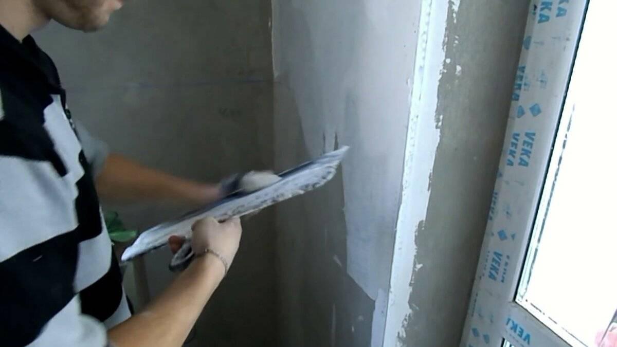 Как шпаклевать стены под обои, покраску | видео инструкция