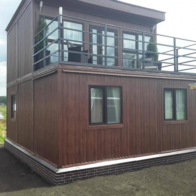 Модульные дома – как построить своими руками фундамент, установить контейнеры, утеплить и провести отделку?