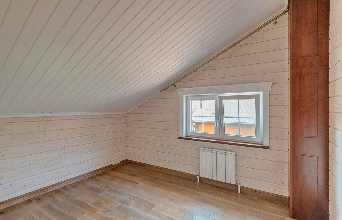 Варианты внутренней отделки стен дома из бруса