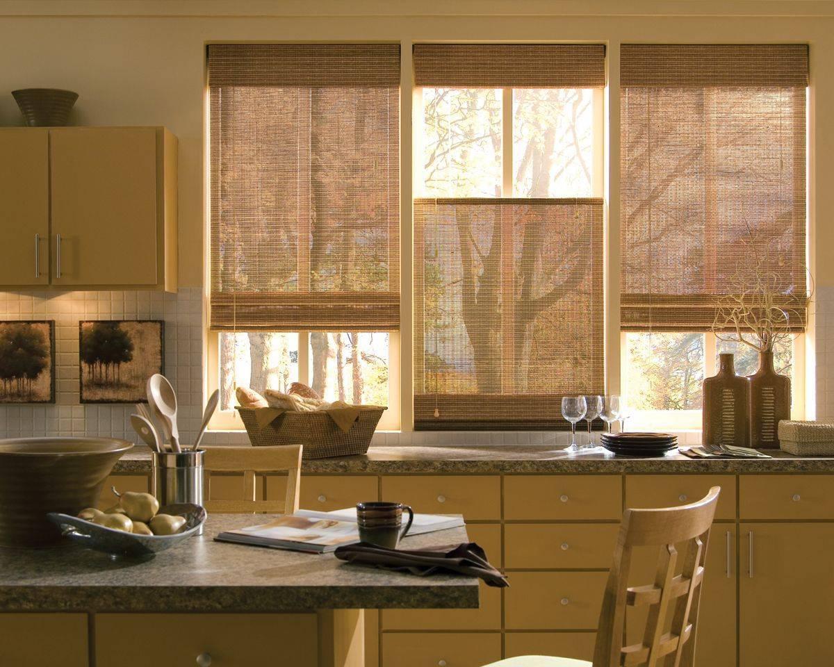 Короткие шторы для кухни: 80+ реальных фото