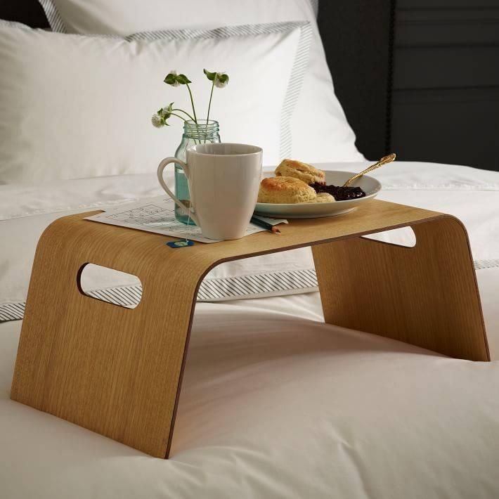 ? создаём романтическое настроение каждый день с помощью столика для завтрака в постель