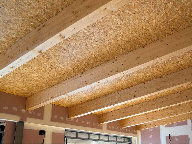 Подшивка потолка осб плитой: отделка своими руками, как крепить, толщина и монтаж, фото как сделать правильно