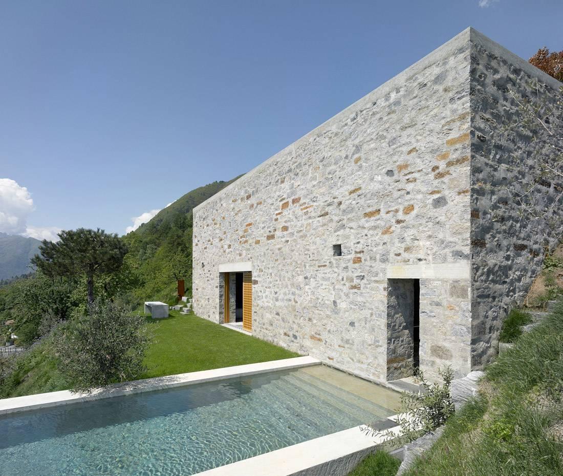 Строительство каменных домов: виды и особенности применяемых материалов