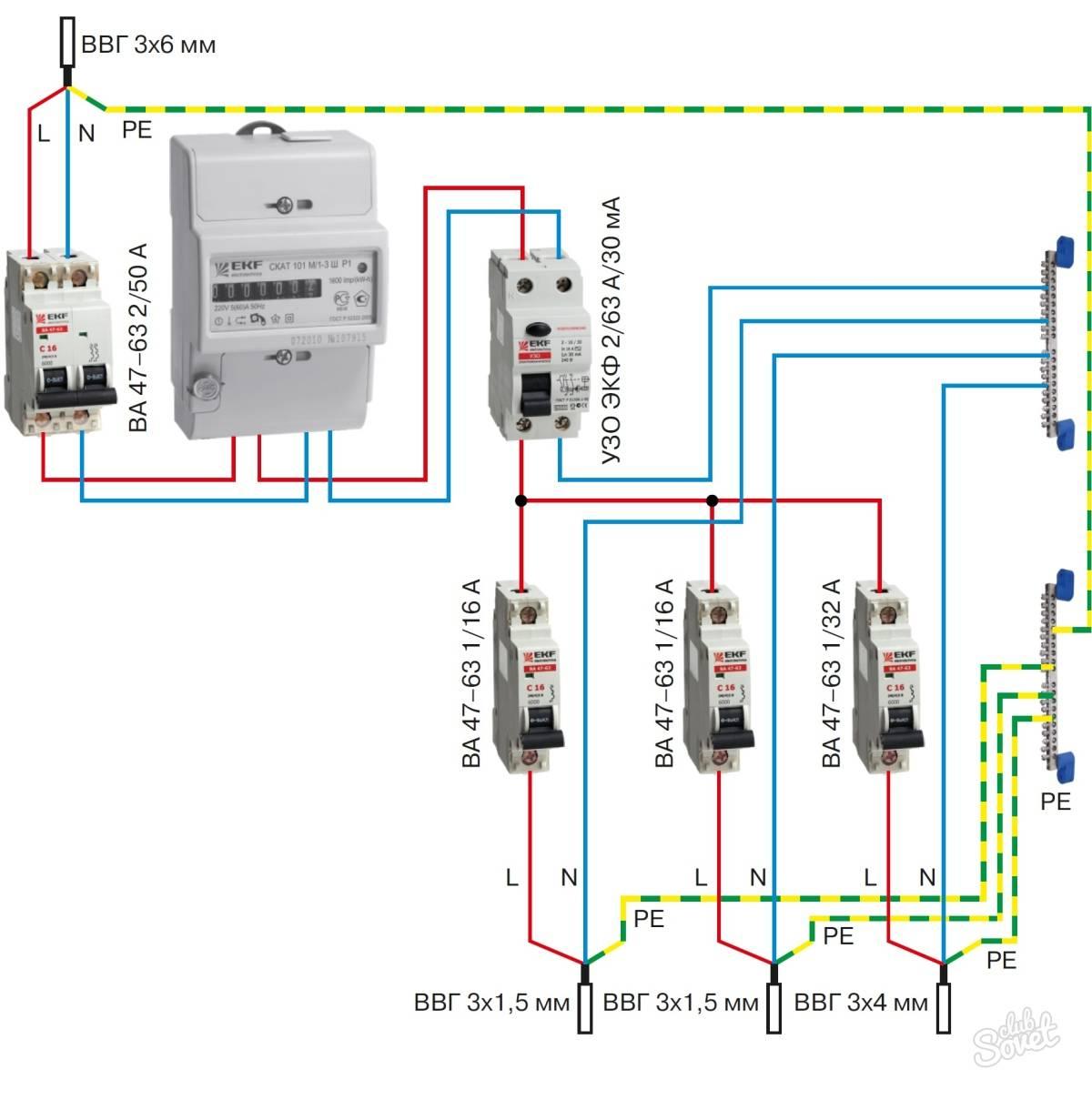 Без помощи профи: подключение дифавтомата просто и быстро