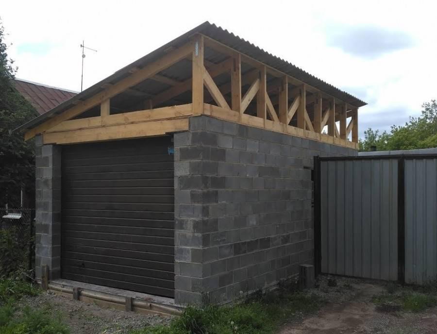 Гараж из пеноблоков (62 фото): как построить гараж своими руками из газобетона и блоков, проекты для строительства