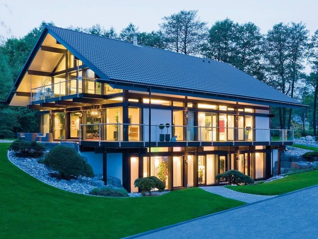 Панорамные окна в частном доме - клуб мастеров