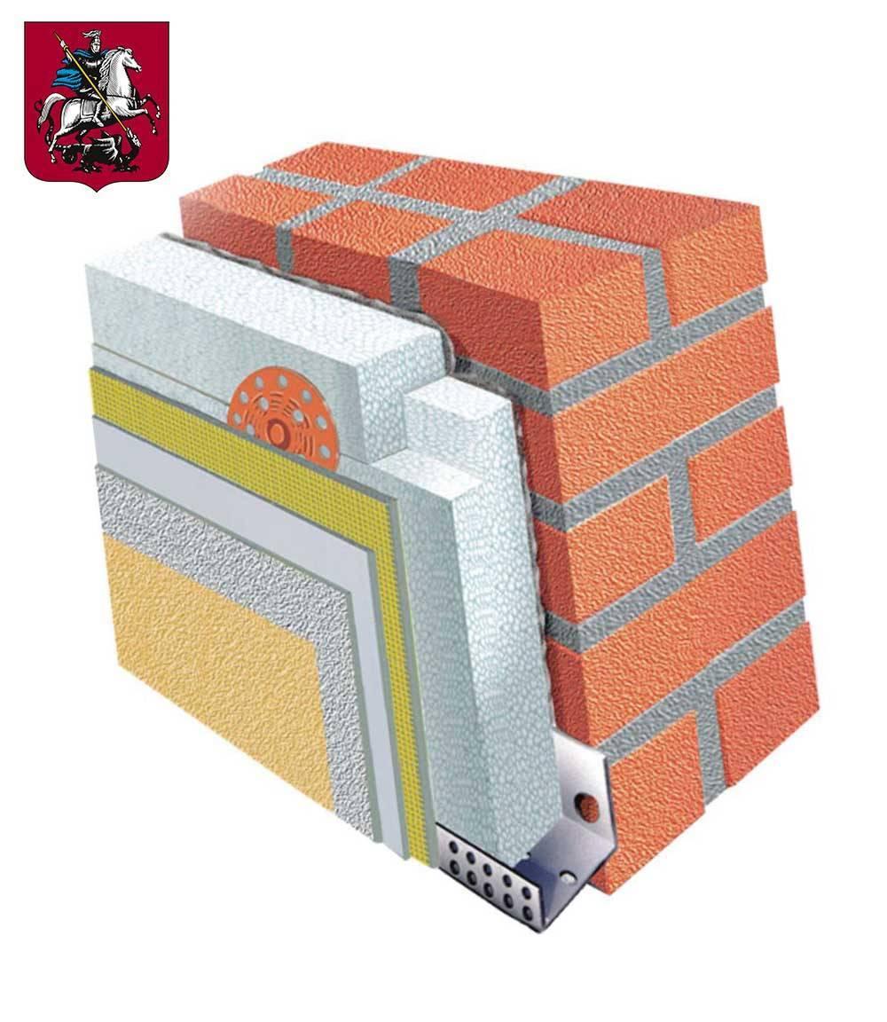 Утепление обычных фасадов пенопластом — мастер фасада