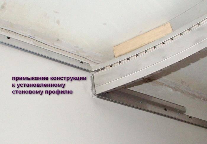 Двухуровневые натяжные потолки с подсветкой (200+ фото)