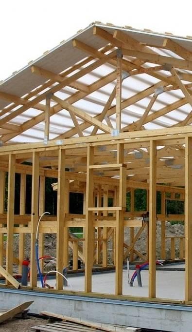 Секреты строительства каркасного дома по финской технологии.