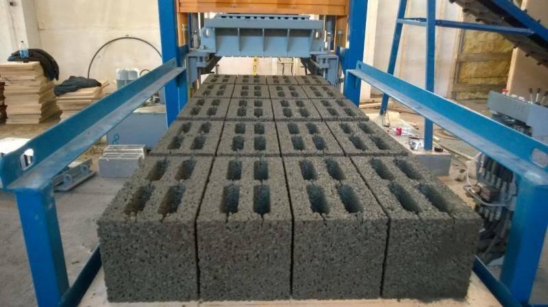 Производство керамзитобетонных блоков: технология