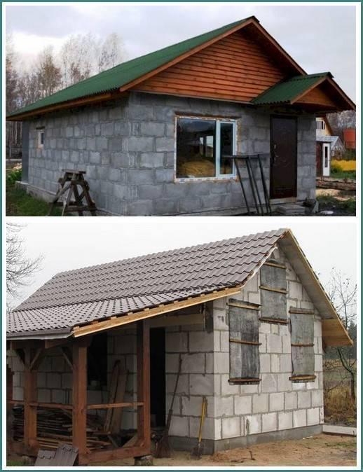 Что лучше, а что дешевле: дом из бруса или пеноблоков?
