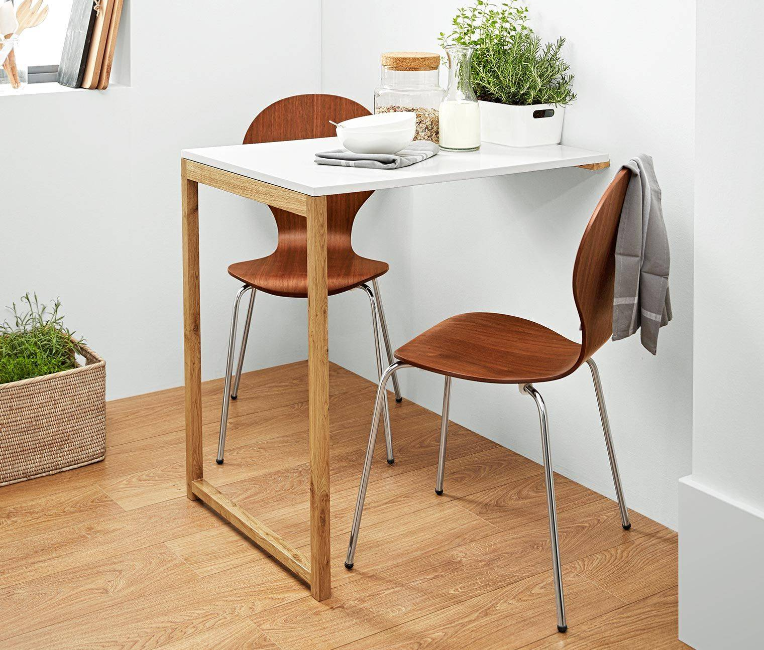 Стол для маленькой кухни - 77 новых идей