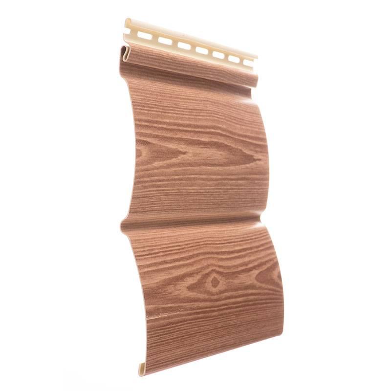 Блок хаус виниловый или пластиковый сайдинг под бревно: монтаж имитации бруса, виды, размеры