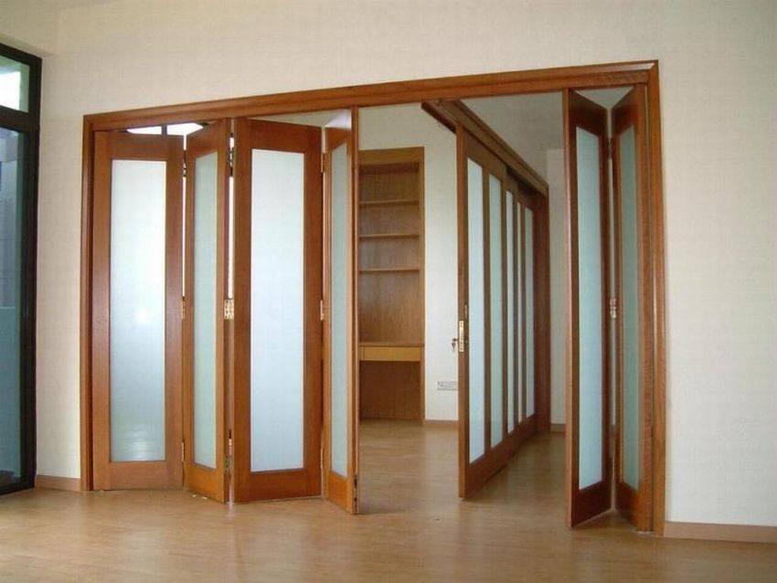 Как установить двери-гармошку, пошаговая инструкция