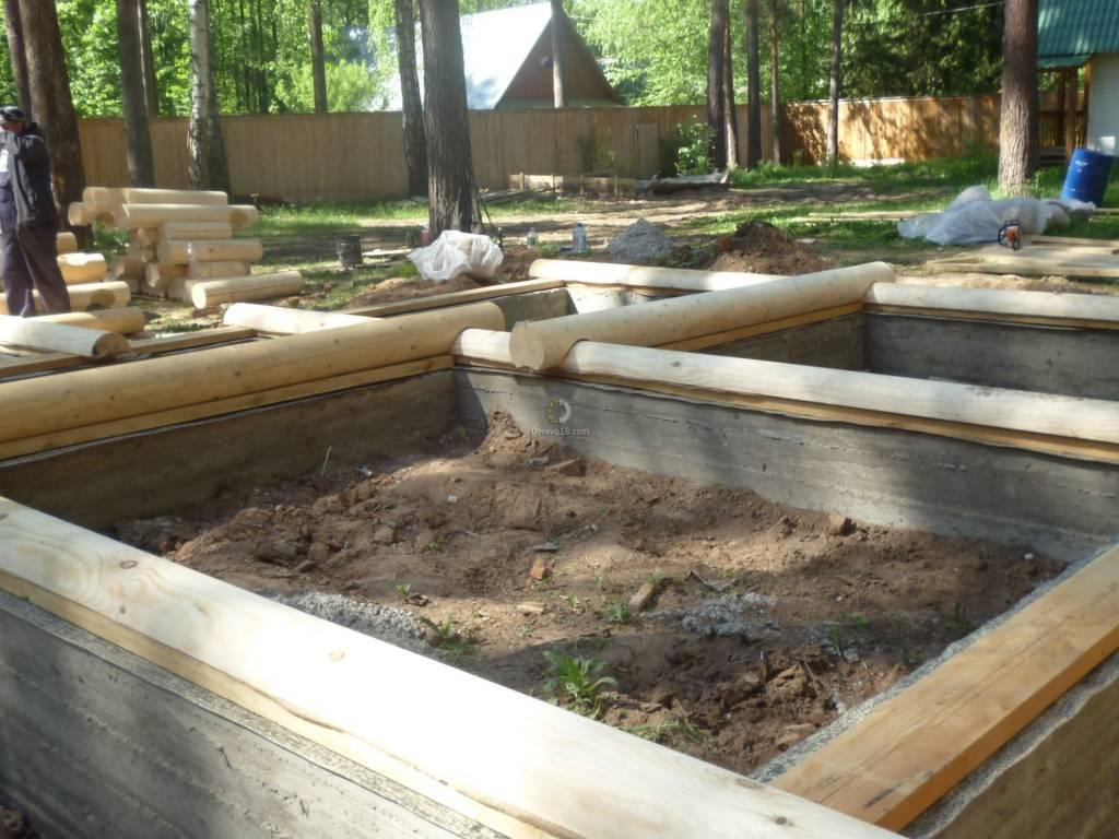 Какой сделать фундамент под деревянный дом - строитель