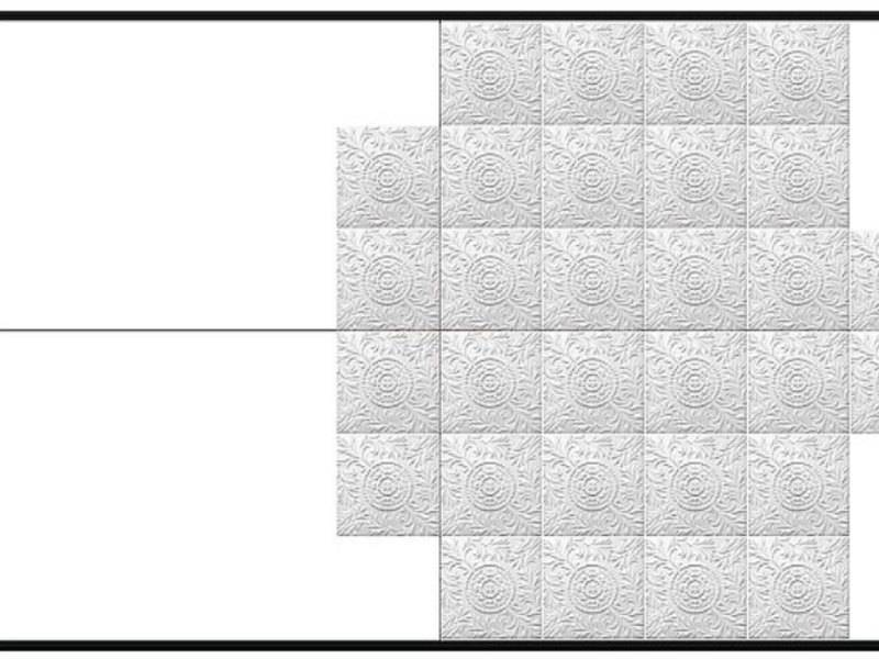 Потолочные плиты без швов. разметка потолка под бесшовную плитку и ее стоимость