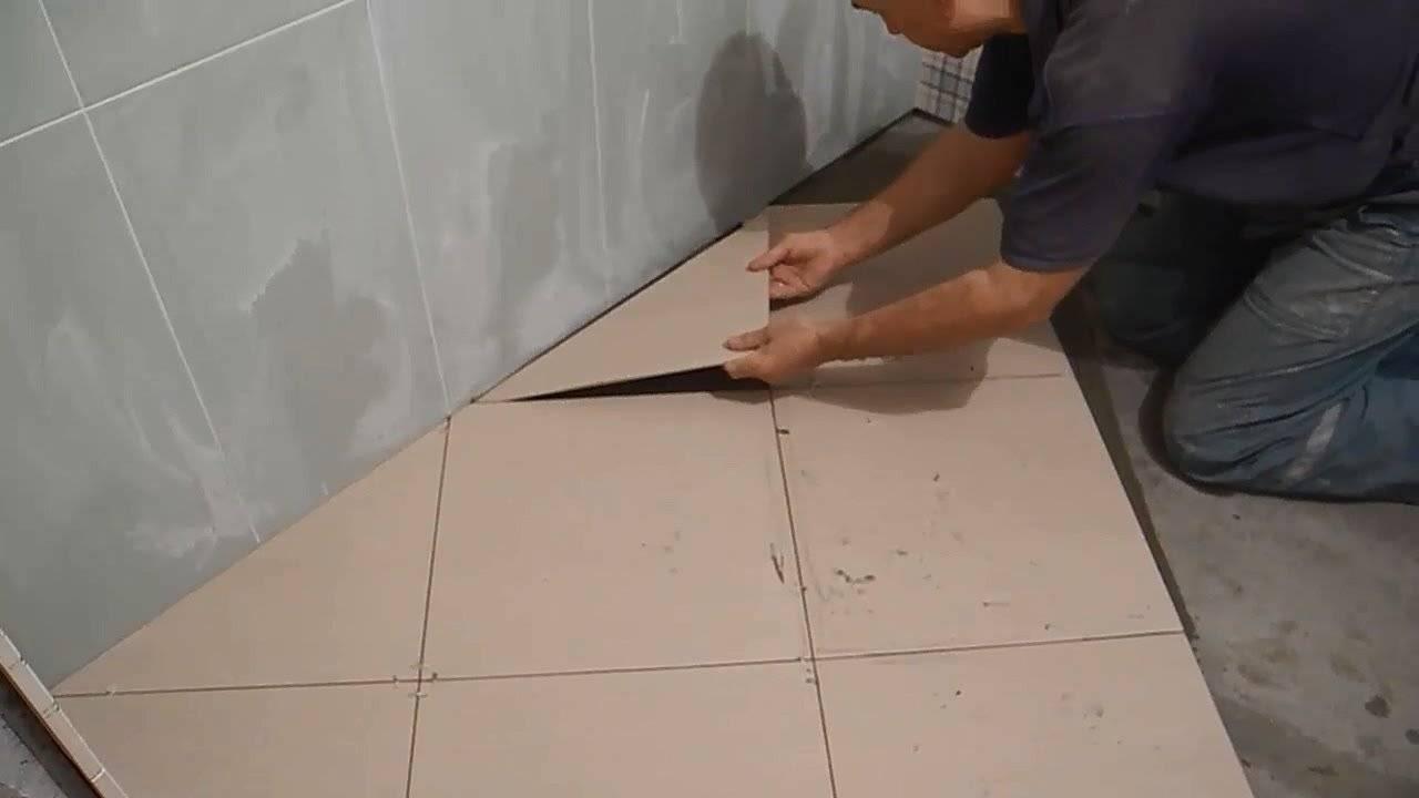 Как класть плитку в ванной: пошаговая инструкция