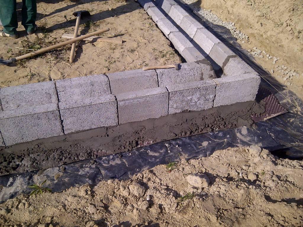 Фундамент для дома из газобетона: пошаговая инструкция!
