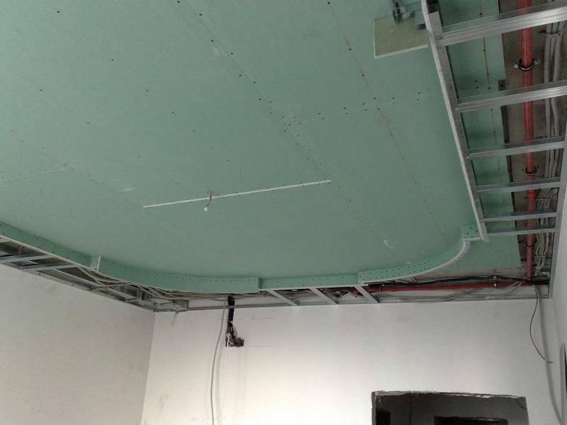 Гипсокартон потолочный: цена устройства подвесного в хрущевке, ремонт и монтаж