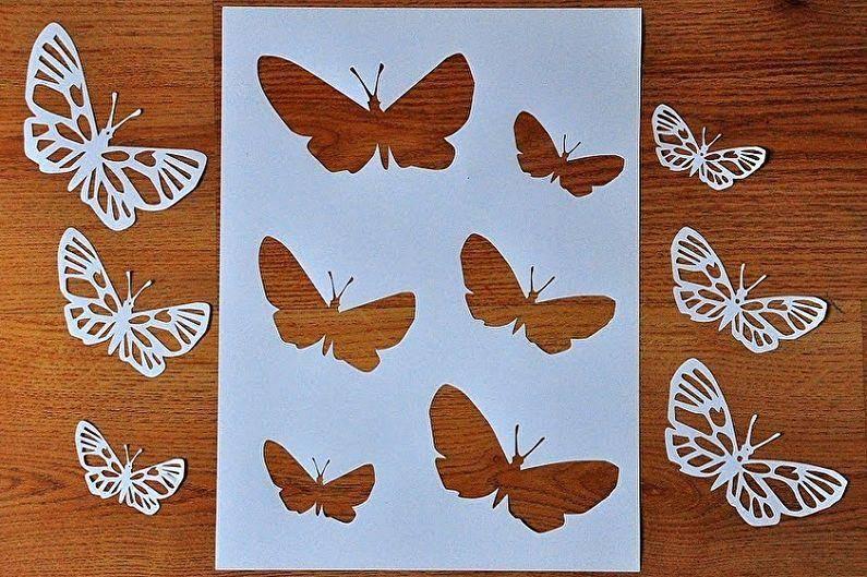 Как сделать бабочку своими руками - 95 фото примеров создания красивой декоративной бабочки