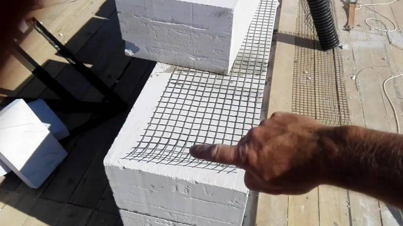 Армирование кладки из газобетонных блоков своими руками | мой самострой!
