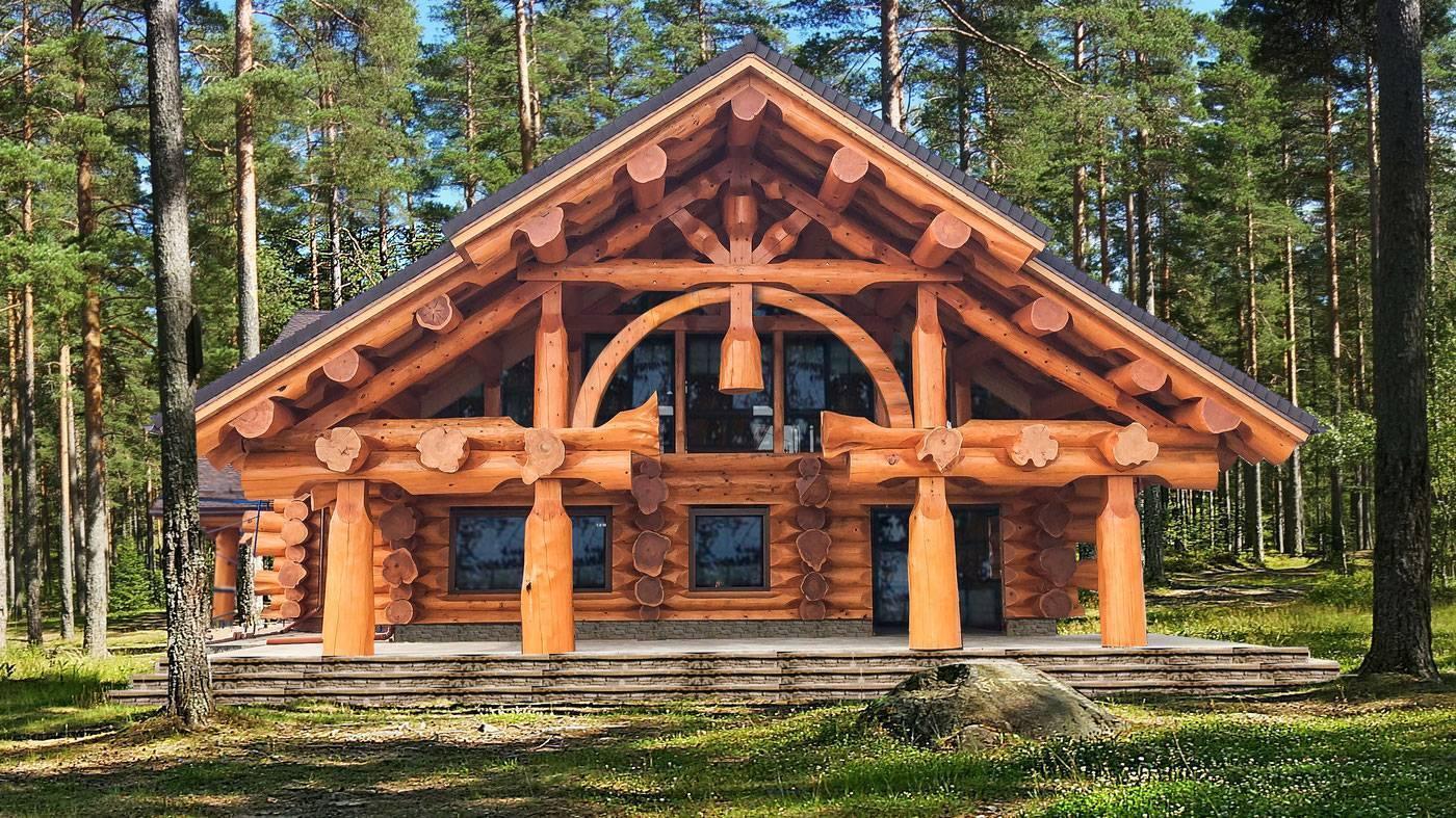 Как построить дом из бревен и бруса своими руками