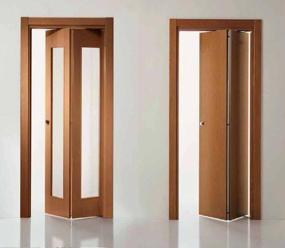 Дверь гармошка: как произвести монтаж, размеры, фото, видео и отзывы